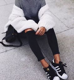 All about fashion, casual winter outfits, trendy outfits, fall outfits, fashion Winter Mode Outfits, Winter Fashion Outfits, Autumn Winter Fashion, Fall Outfits, Fresh Outfits, Sneaker Outfits, Casual Winter Outfits, Trendy Outfits, Outfit Winter