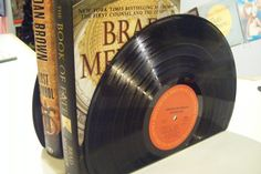Record Bookends - COOL!