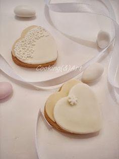Μπισκότα γάμου ''νύφη'' ! Sugar Paste, Panna Cotta, Biscuits, Cookies, Ethnic Recipes, Desserts, Food, Bride, Wedding