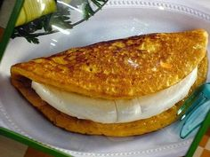 Cachapas de Maiz venezolanas
