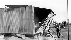 Badly Damaged Residence caused by the 1896 Braamfontein Explosion | Flickr - Photo Sharing!
