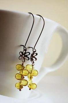 Honey Drops - Earrings