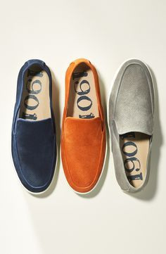 Classic and stylish slip-on shoes for him.