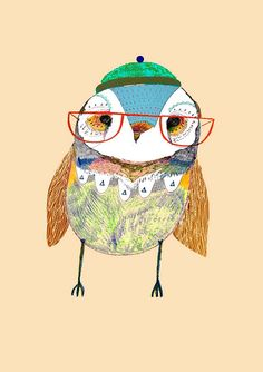 Boy Decor, Baby Nursery Decor, Nursery Wall Art, Kids Room Art, Art Wall Kids, Art For Kids, Owl Art, Bird Art, Baby Prints