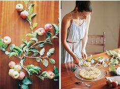 Apple Tart Tatin with walnuts * Tarte tatin de maçã e nozes  suvellecuisine.com