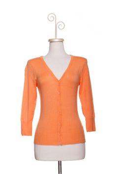 Dressing Your Truth - Type 1 Papaya Cardigan