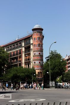 Ruas de Madri, Reino de Espanha é um país situado na Europa meridional, na Península Ibérica.