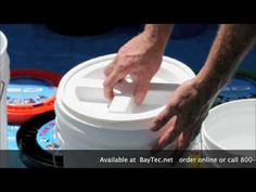 Gamma Seal Lids Recycled 5 gallon plastic buckets The Gamma Seal Lid converts a plastic bucket or Emergency Food, In Case Of Emergency, Survival Food, Emergency Preparedness, Provident Living, Bokashi, Plastic Buckets, Dehydrated Food, Preserving Food