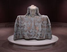 Dress, 1740-59, from the Kent State University Museum