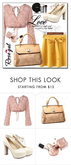 """""""Rosegal #4"""" by danijela-3 ❤ liked on Polyvore featuring Chanel"""