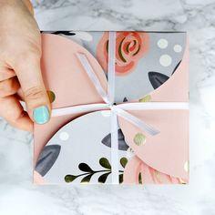 DIY Circle Envelope Gift Card Holder ~ Christmas 2016 | Karen Kavett