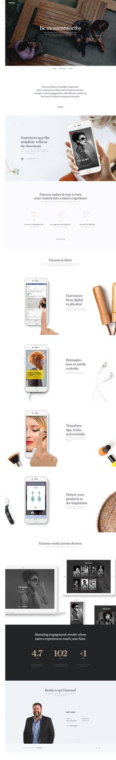 Famous Website Design Inspiration