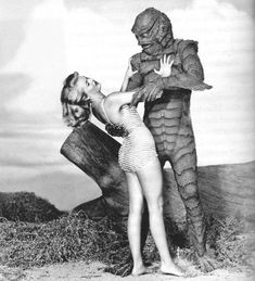 ' Revenge of the Creature is the first sequel to Creature from the Black Lagoon. The science fiction horror movie was released on May in … Tv Movie, Sci Fi Movies, Scary Movies, Old Movies, Horror Monsters, Scary Monsters, Famous Monsters, Sci Fi Horror, Horror Art