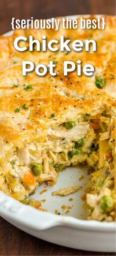 Chicken Pot Pie Casserole, Best Chicken Pot Pie, Chicken Recipes, Chicken Pot Pie Recipe With Bisquick, Chicken Pot Pie Recipe Pillsbury, Easy Pot Pie Recipe, Chicken Pop Pie, Pillsbury Pie Crust Recipes, Best Homemade Chicken Pot Pie Recipe