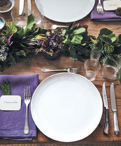 Table setting - Ina Garten