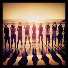 Super cliche, but I would love to do this with a group of sisters.