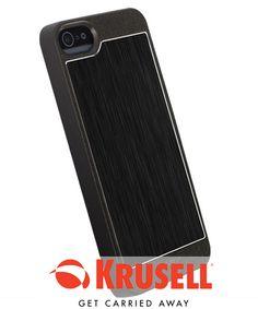 Krusell AluCover voor Apple iPhone 5 / 5S Zwart
