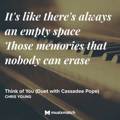Think Of You - Chris Young And Cassadee Pope