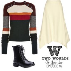 Just like ordinary couples. W Two Worlds, Chic Outfits, Inspired Outfits, Second World, Stella Mccartney, Isabel Marant, Casual, Sweaters, Polyvore