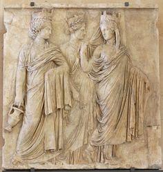 Le tre Tyche del Louvre