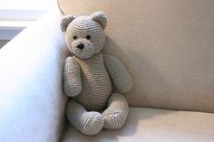 Breipatroon: teddybeer