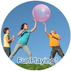 Inflatable Bubble Ball > Klein speelgoed - traktaties > Al het speelgoed > Apart, leuk en hip speelgoed, webwinkel TrendySpeelgoed.nl