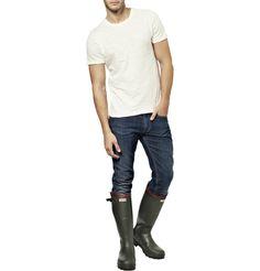 Mr Porter Hunter/Balmoral Royal Leather-Lined Wellington Boots