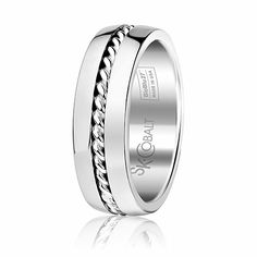 Scott Kay, Braid, bridal, Mens Bridal : SK Cobalt : Braid, SK-C1105CCS7