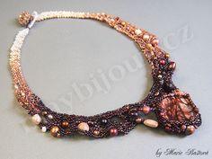 Kořeněná čokoláda / Spiced Chocolate - may bijoux by Marie Bastova.  freeform
