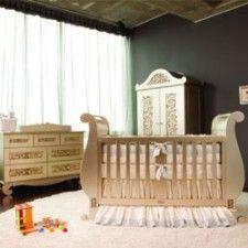 Een luxe en exclusieve #babykamer in plaats van standaard wit   Babystuf