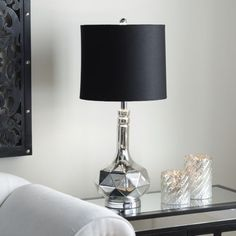 Silver Plated Table Lamp | Kirklands