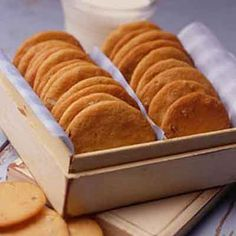 Refrigerator cookies are made extra-special with the addition of butterscotch and pecans.