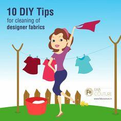 10 DIY tips to manage cleaning of Designer Fabrics at home!  http://wp.me/p6qlgO-6J  #FabCouture!#DesignerFabric#DesignerDressesCleaning#FabricMaintenance#Fashion#Cleaning #LongLifetoFabrics#DesignerWearMaintenance#TakeCareofDesignerFabric #DryCleaning #FabricHandlewithCare