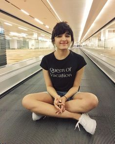 Cuz standing on a travelator is too mainstream : Cute Girl Pic, Stylish Girl Pic, Cute Girls, Cute Preppy Outfits, Shirley Setia, Punjabi Models, My Hairstyle, Instagram Story Ideas, Dimples