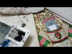 Tanjore Painting, Painting Videos, Carat Gold, Krishna, Make It Yourself, Blog, Blogging