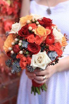 Autumn Wedding Blooms from Flos Florum