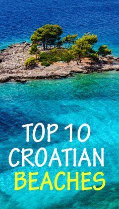 Top 10 Croatian beaches to visit this summer! www.totalcroatia.eu
