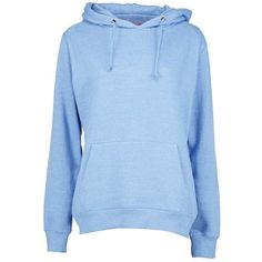 Katie Overhead Hoody ($17) ❤ liked on Polyvore featuring tops, hoodies, hooded pullover, blue hooded sweatshirt, blue top, sweatshirt hoodies and hooded sweatshirt