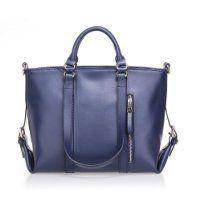 Fineplus Women's Large New Fashion Genuine Leather Multifunctional Shoulder Strap Ladies Tote Bags Handbag Blue $237.00 #fineplus