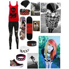 """""""Girl skater"""" by lolvannessa on Polyvore"""