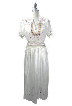 The Brigitte Dress White http://thedecohaus.com/products/the-brigitte-dress-white