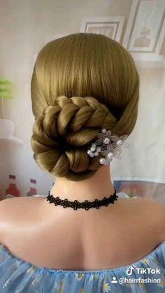 Cute Hairstyles For Medium Hair, Up Hairstyles, Dancer Hairstyles, Hairstyles For Weddings, Little Girl Wedding Hairstyles, Waitress Hairstyles, Frozen Hairstyles, Russian Hairstyles, Little Girl Updo