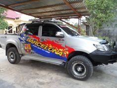 Sticker Mobil Sorong, Cutting Sticker Hilux. #TribalGraphics #CuttingSticker #3DCuttingSticker #Decals #Vinyls  #Stripping #StickerMobil #StickerMotor #StickerTruck #Wraps  #AcrilycSign #NeonBoxAcrilyc #ModifikasiMobil #ModifikasiMotor #StickerModifikasi  #Transad #Aimas #KabSorong #PapuaBarat