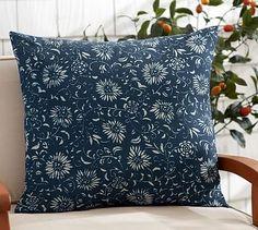 Outdoor Amadea Floral Pillow #potterybarn