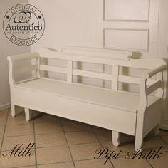 Romantisk slagbænk i Milk Autentico kalkmaling