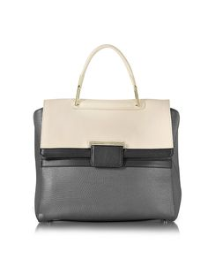 FURLA WOMEN'S 834651LAVA GREY LEATHER HANDBAG. #BestPrice $0.90!