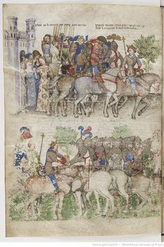 La Quête du Saint Graal et la Mort d'Arthus, de « GAUTIER MAP ». | Gallica