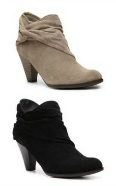 DSW booties - so comfy and only $70!