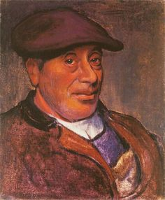 Władysław Ślewiński - Self portrait