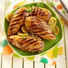 Grilled Lemon Pepper Chicken.
